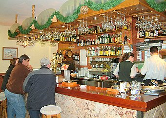 Typical bar in the Vinuela area